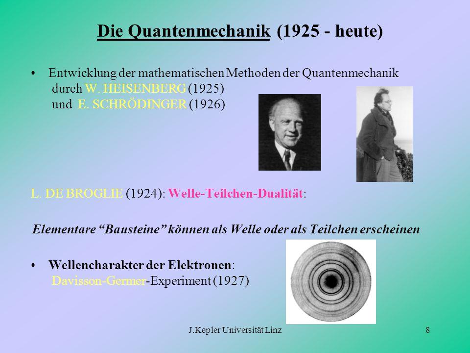 Die Quantenmechanik (1925 - heute)