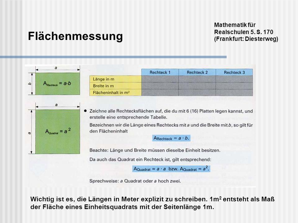 Mathematik für Realschulen 5. S. 170 (Frankfurt: Diesterweg)