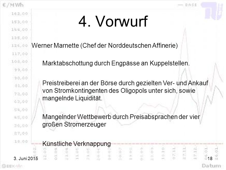 4. Vorwurf Werner Marnette (Chef der Norddeutschen Affinerie)