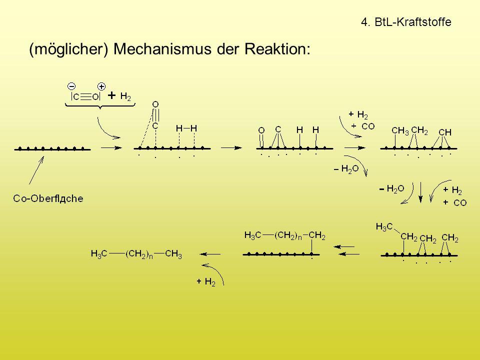 (möglicher) Mechanismus der Reaktion: