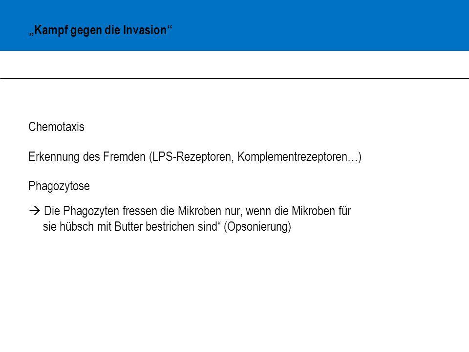 """""""Kampf gegen die Invasion"""