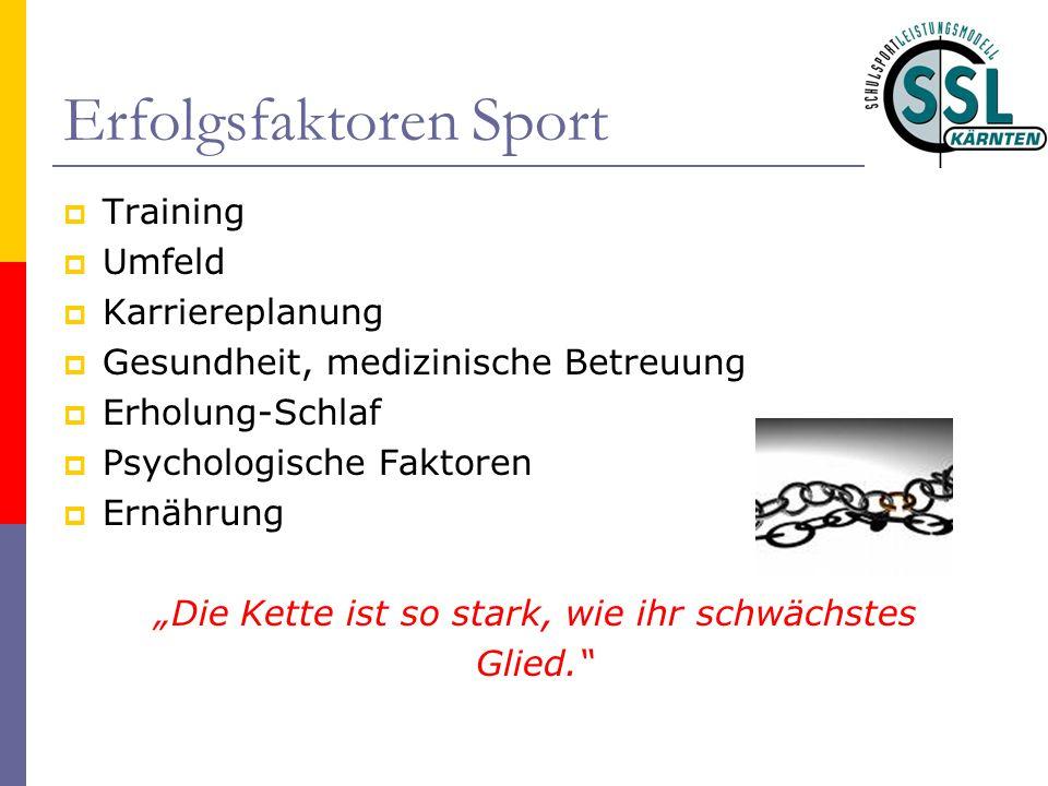 Erfolgsfaktoren Sport