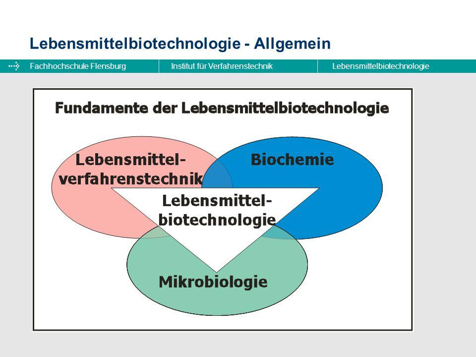Lebensmittelbiotechnologie - Allgemein