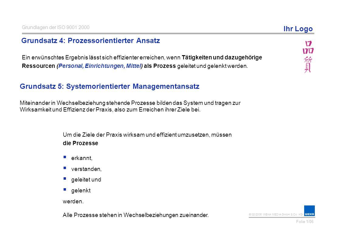 Grundsatz 4: Prozessorientierter Ansatz