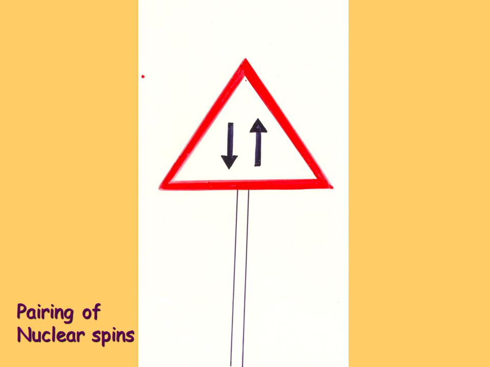 Pairing of Nuclear spins