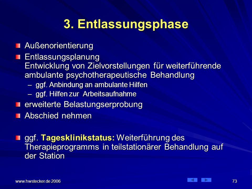 3. Entlassungsphase Außenorientierung