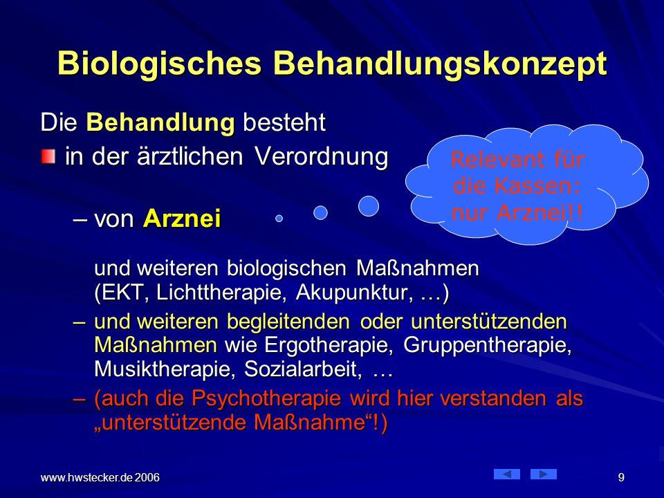 Biologisches Behandlungskonzept