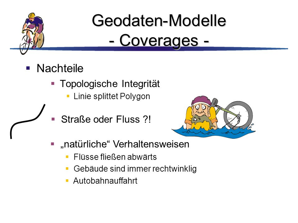 Geodaten-Modelle - Coverages -