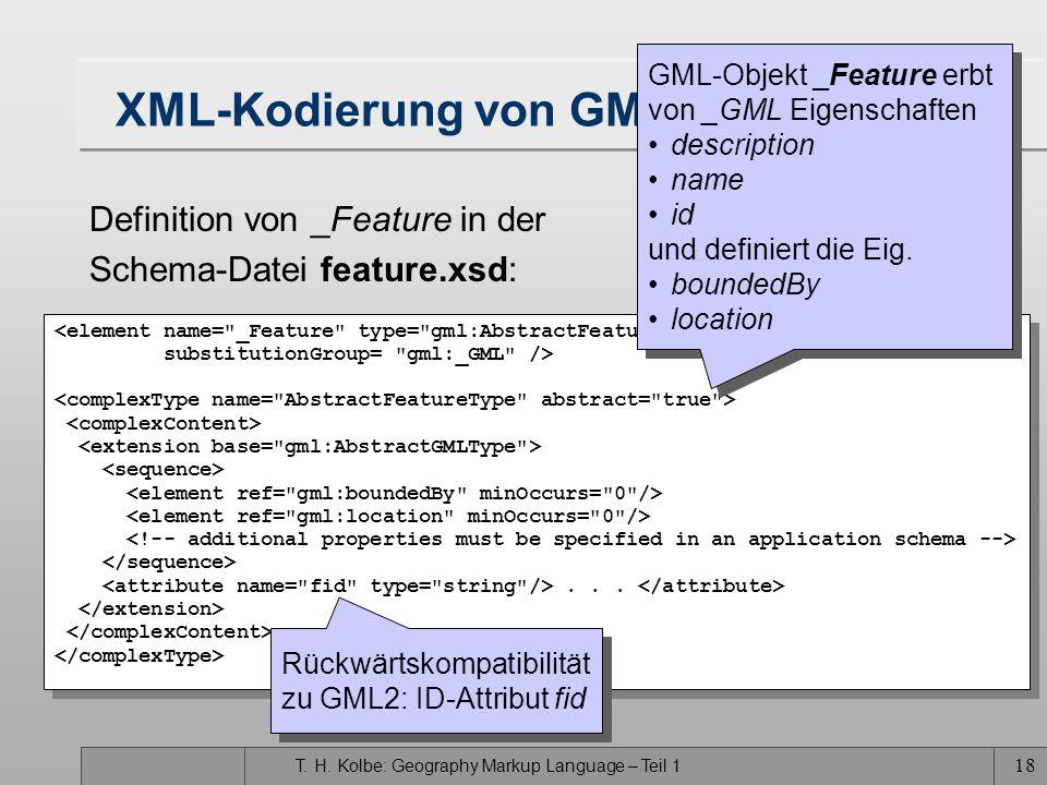XML-Kodierung von GML-Features (II)