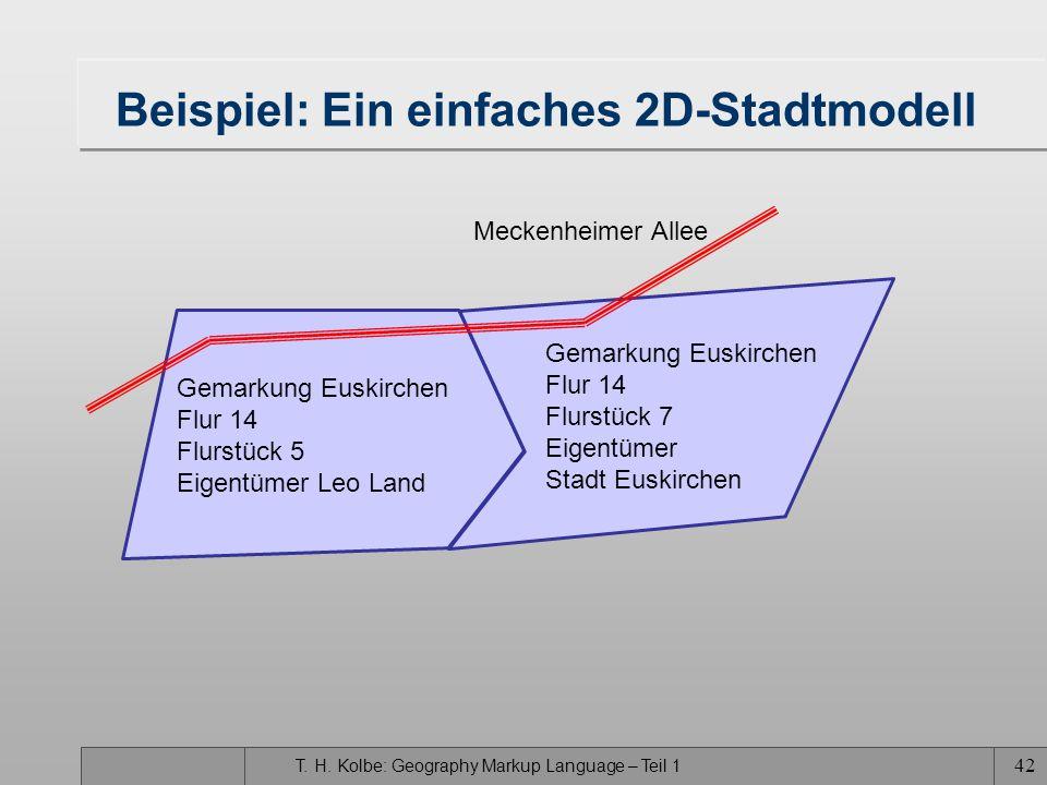 Beispiel: Ein einfaches 2D-Stadtmodell