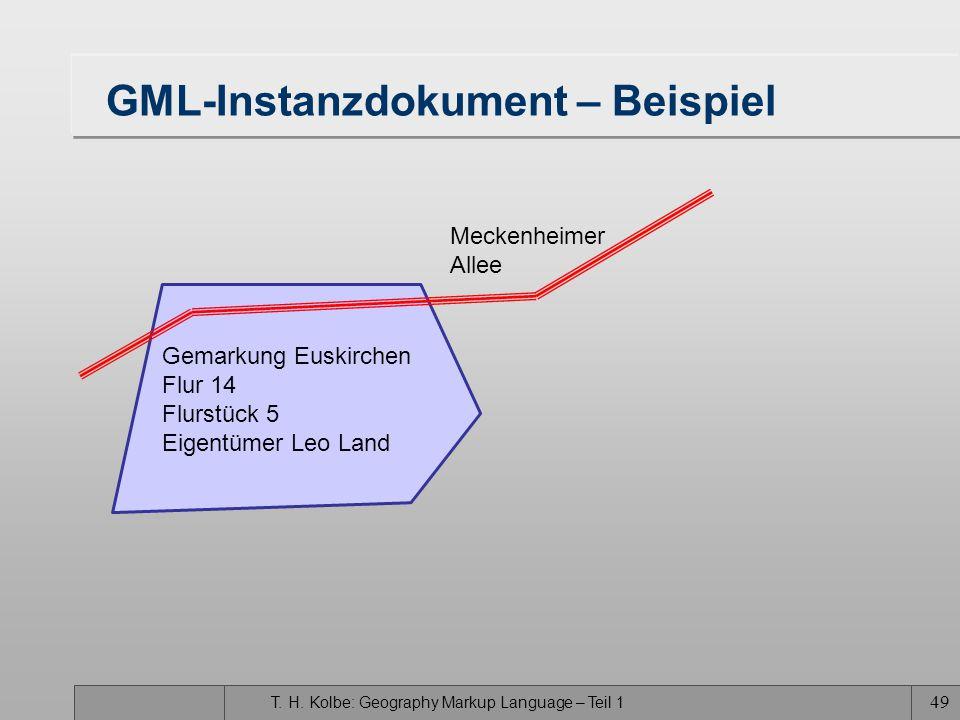 GML-Instanzdokument – Beispiel