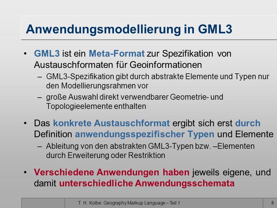 Anwendungsmodellierung in GML3