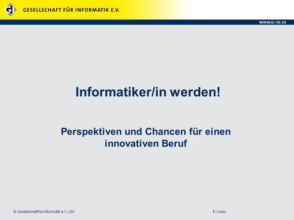 Informatiker/in werden!