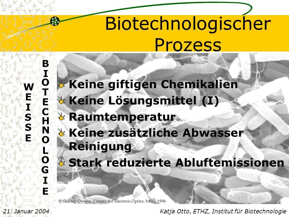 Biotechnologischer Prozess