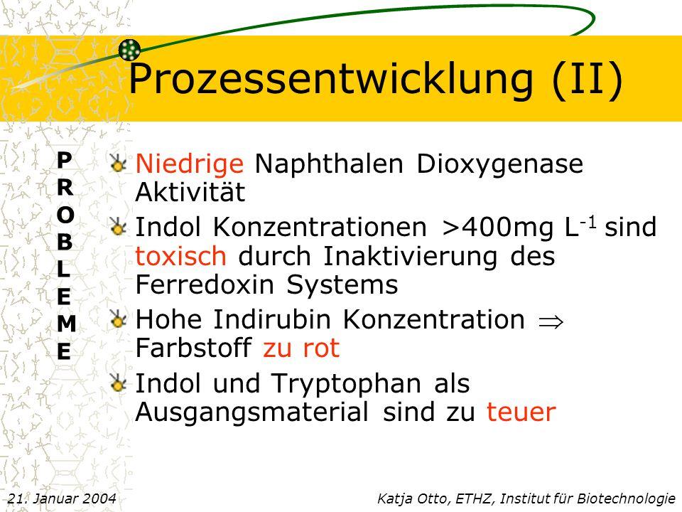 Prozessentwicklung (II)