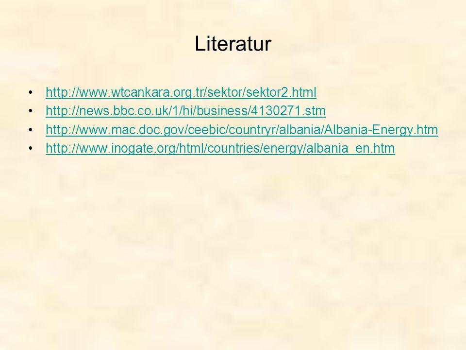 Literatur http://www.wtcankara.org.tr/sektor/sektor2.html