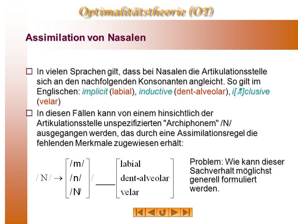 Assimilation von Nasalen