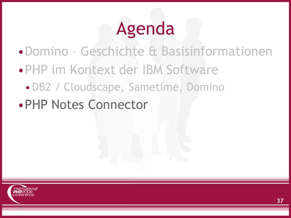Agenda Interner Aufbau von Lotus Notes Zugriff auf Notes Daten