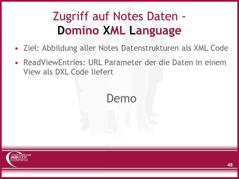 Domino XML Language - ReadViewEntries