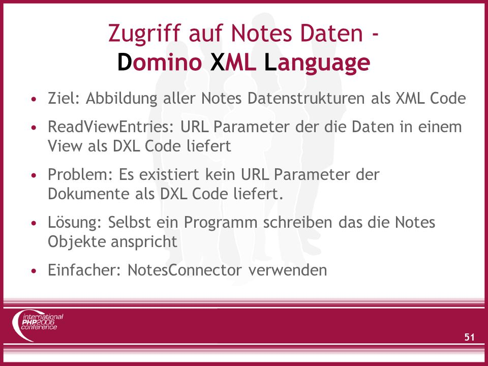 NotesConnector - Architektur