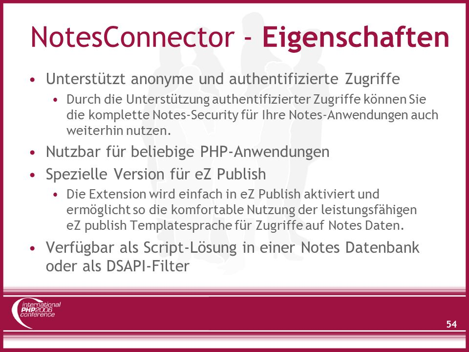 Notes Connector - Funktionen