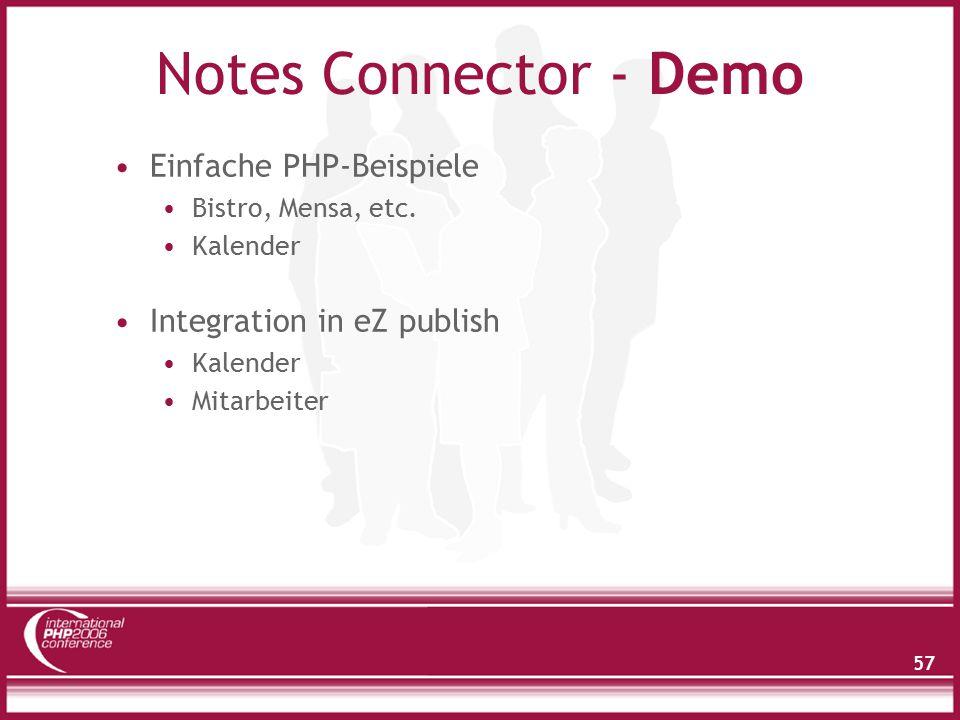 Zugriff auf Notes Daten - Besonderheiten