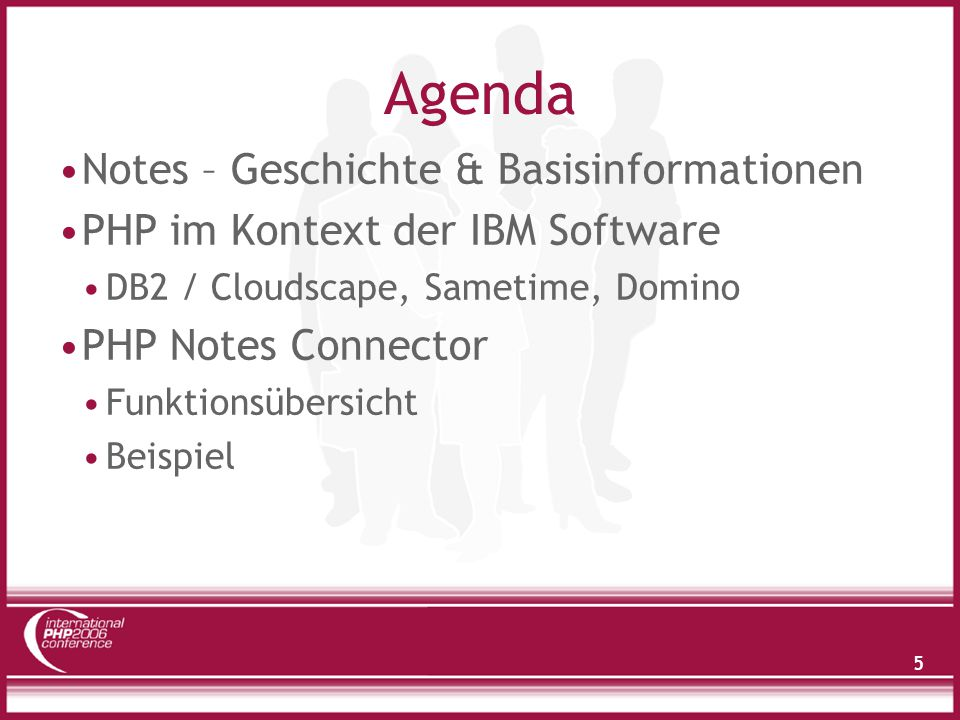 Agenda Notes – Geschichte & Basisinformationen
