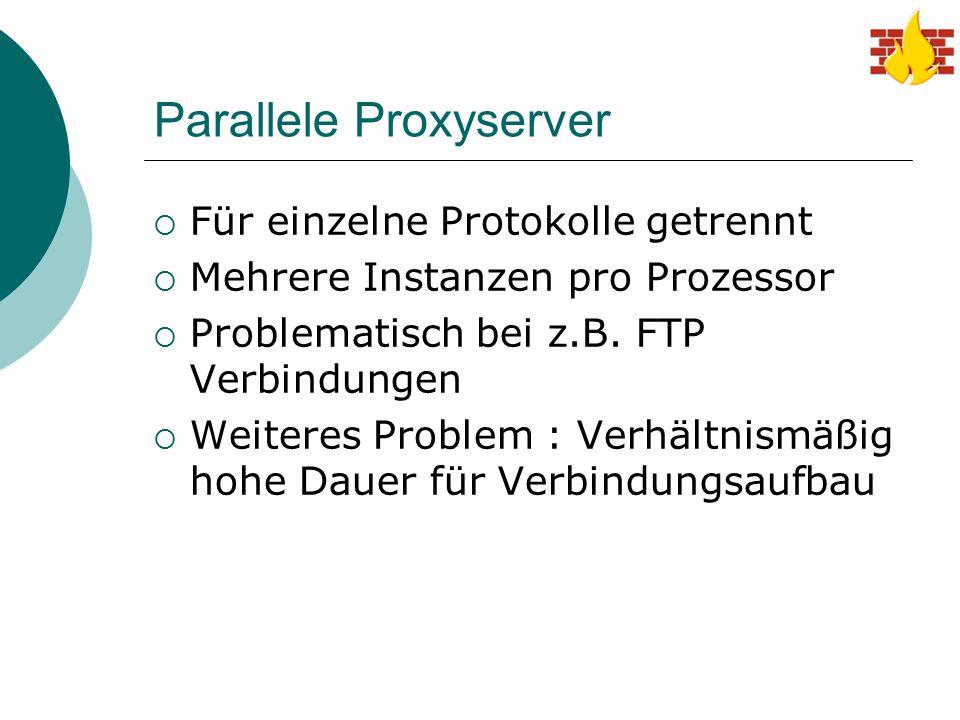 Parallele Proxyserver