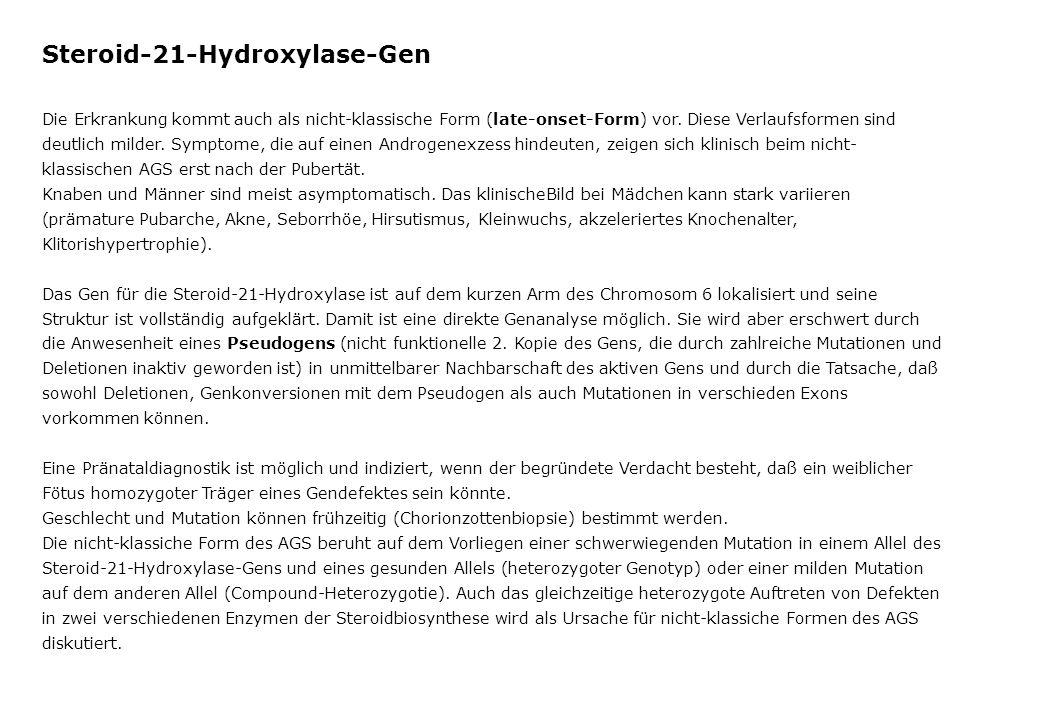 Steroid-21-Hydroxylase-Gen
