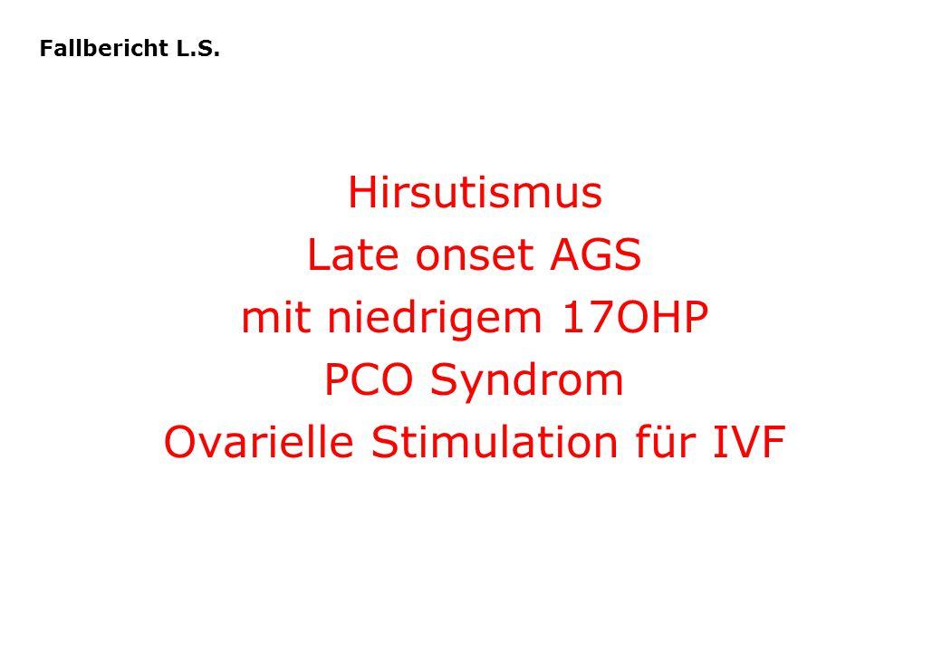 Ovarielle Stimulation für IVF