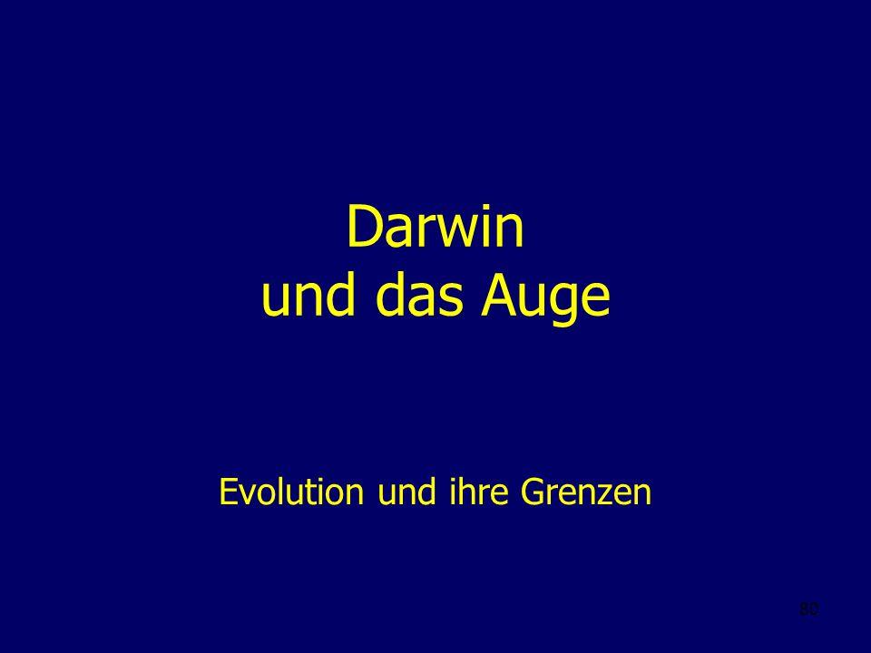 Evolution und ihre Grenzen