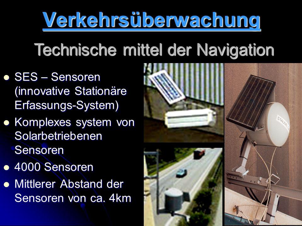 Technische mittel der Navigation