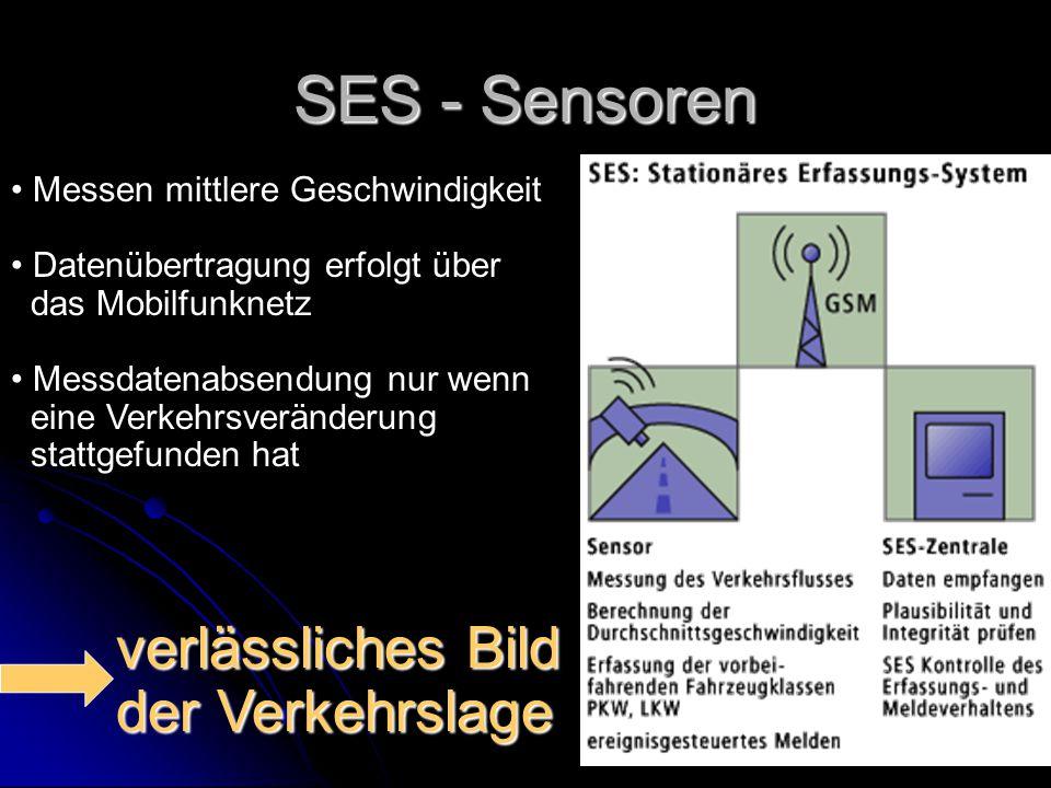 SES - Sensoren verlässliches Bild der Verkehrslage