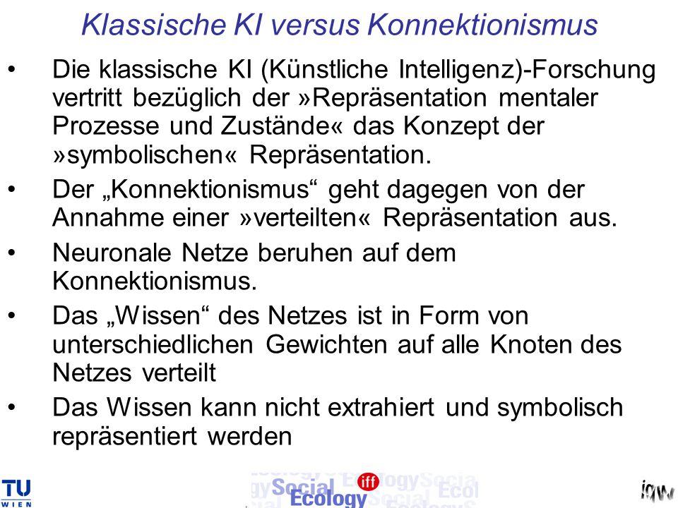 Klassische KI versus Konnektionismus