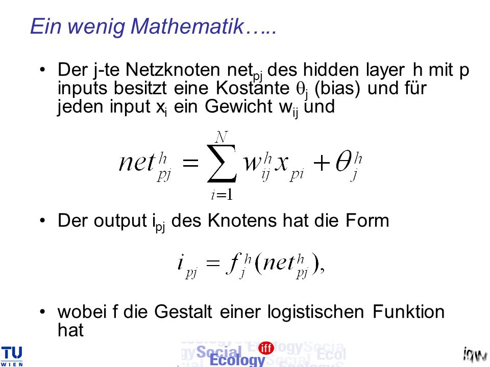 Ein wenig Mathematik…..