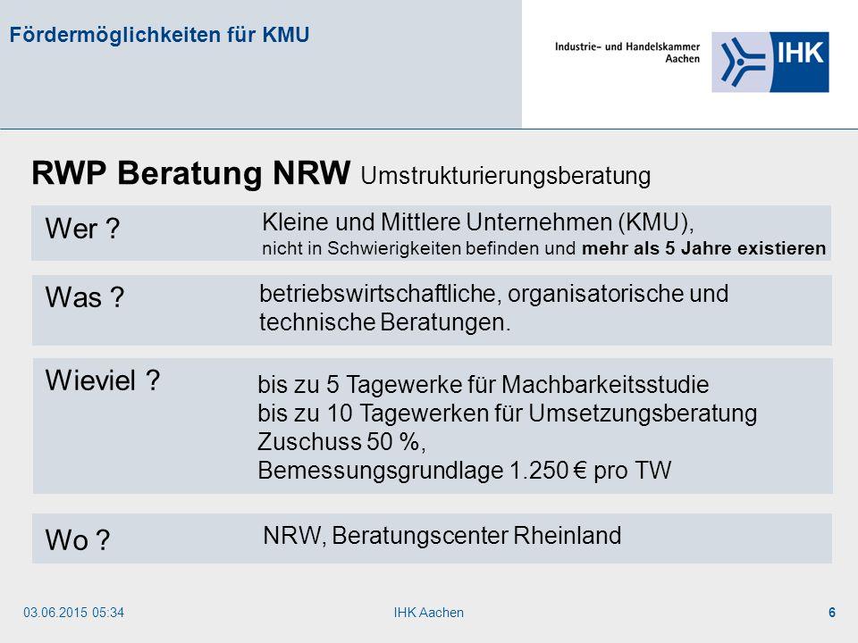 RWP Beratung NRW Umstrukturierungsberatung