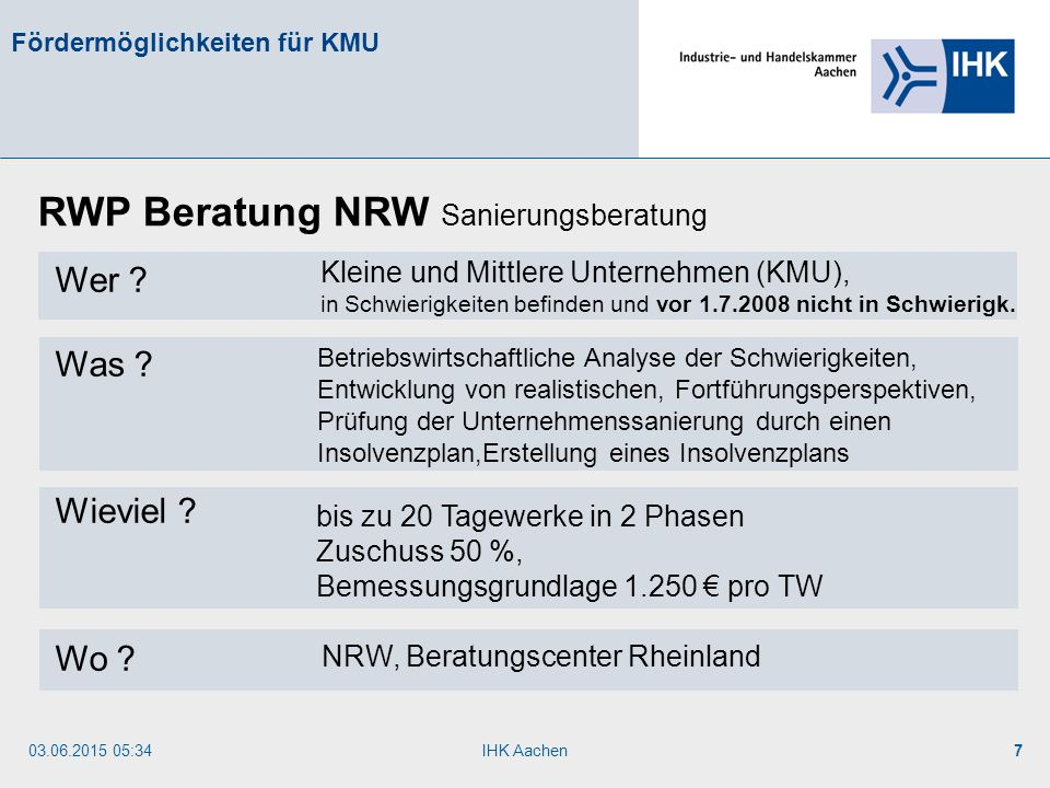 RWP Beratung NRW Sanierungsberatung