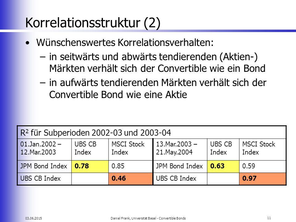 Korrelationsstruktur (2)