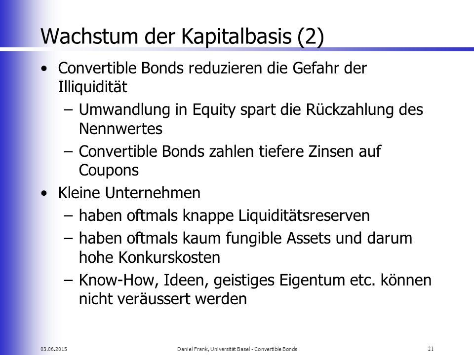 Wachstum der Kapitalbasis (2)