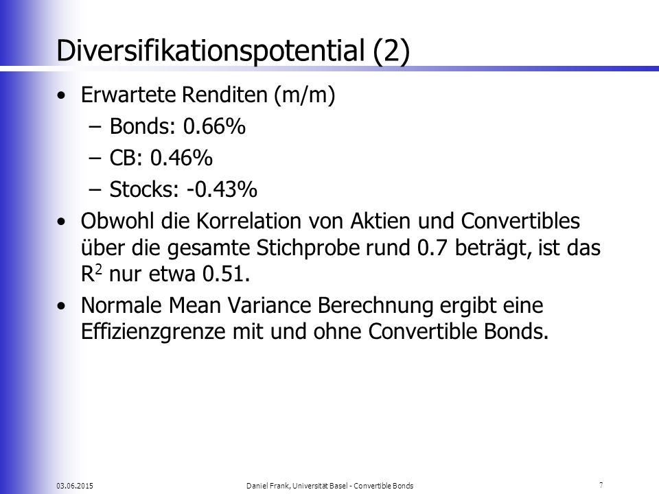 Diversifikationspotential (2)