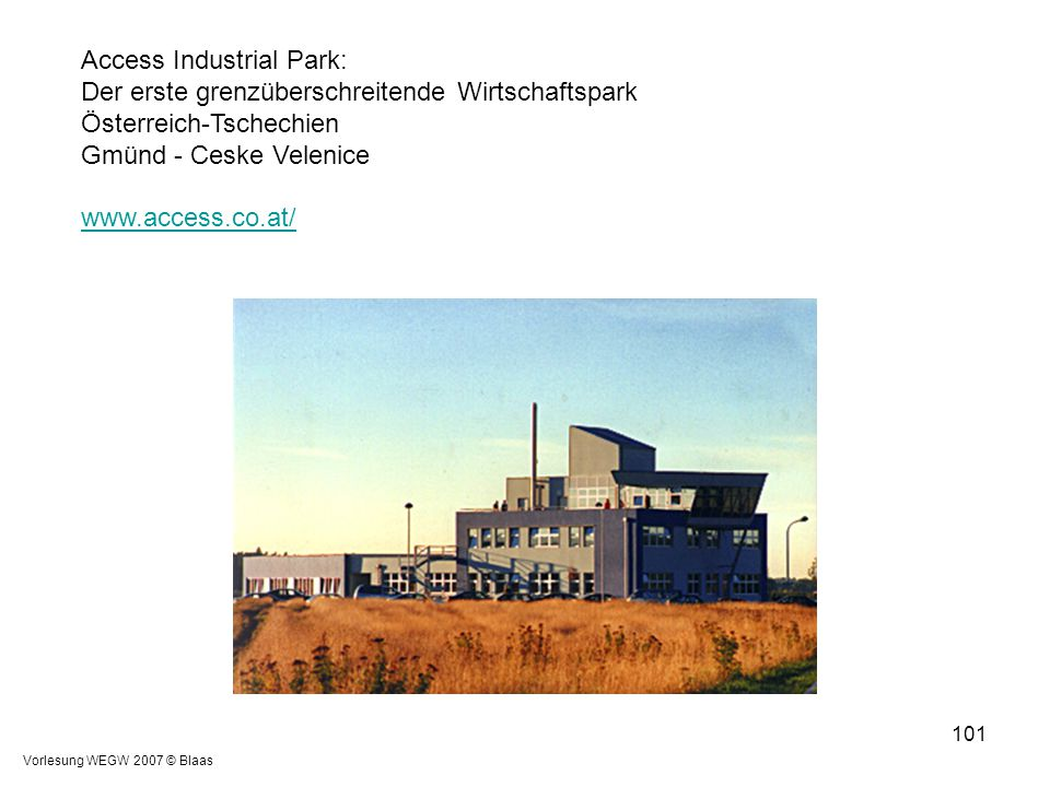 Access Industrial Park: