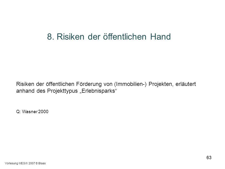 8. Risiken der öffentlichen Hand