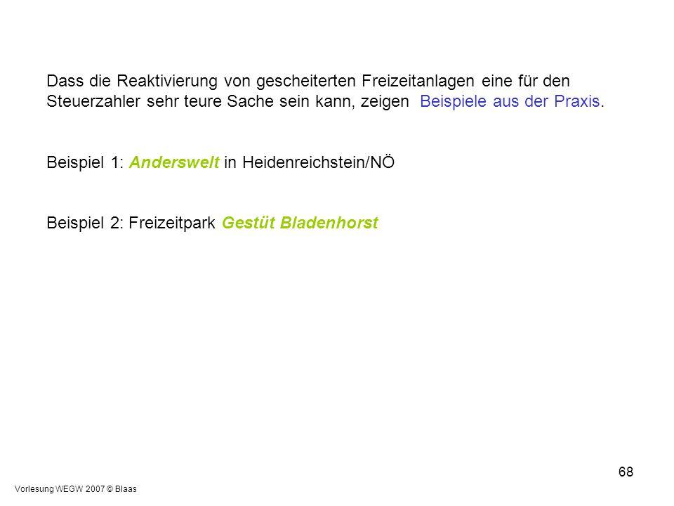 Beispiel 1: Anderswelt in Heidenreichstein/NÖ