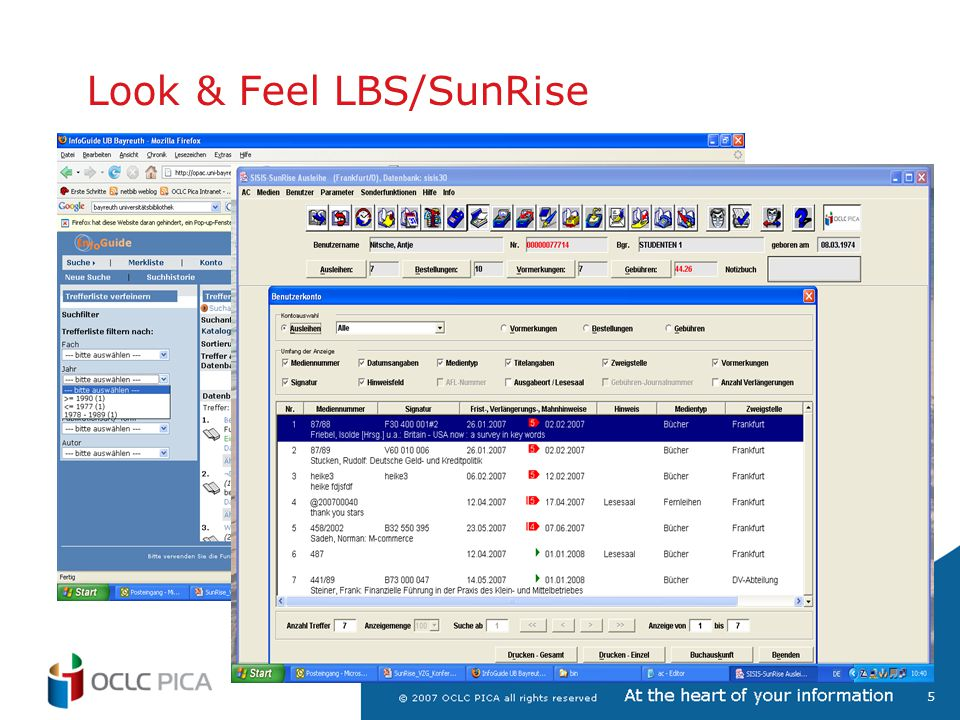 Look & Feel LBS/SunRise