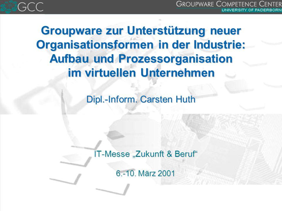"IT-Messe ""Zukunft & Beruf 6.-10. März 2001"