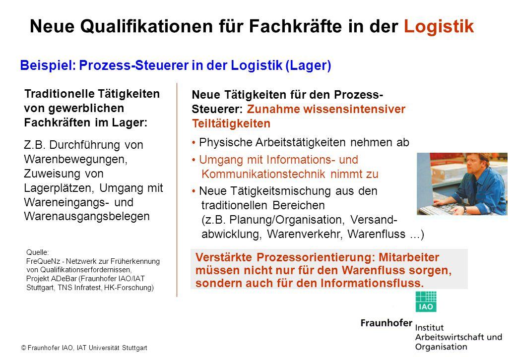 Neue Qualifikationen für Fachkräfte in der Logistik