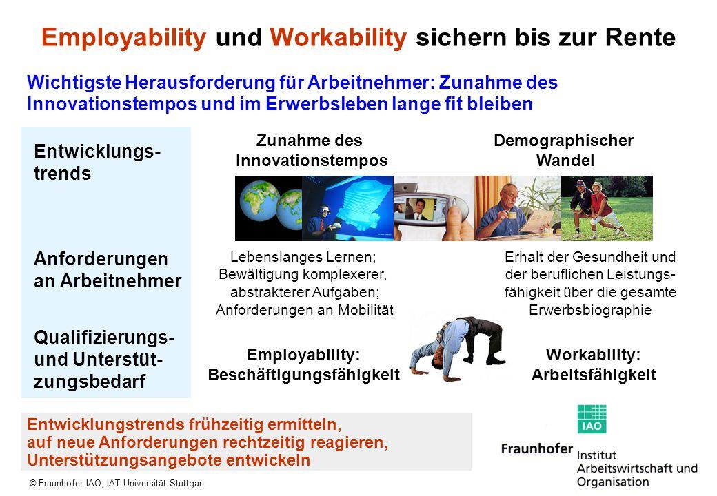 Employability und Workability sichern bis zur Rente