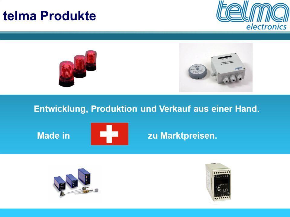 telma Produkte Entwicklung, Produktion und Verkauf aus einer Hand.