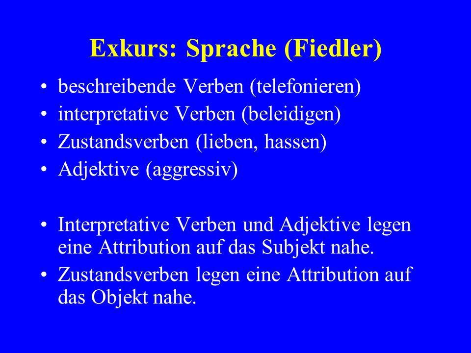 Exkurs: Sprache (Fiedler)