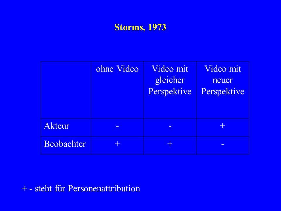 Video mit gleicher Perspektive Video mit neuer Perspektive
